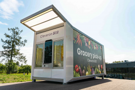 Cleveron launches an automated street-front locker system for groceries