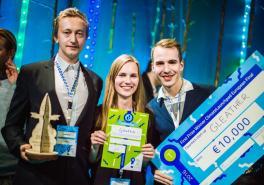 Estonian startup Gleather wins a cleantech business idea contest