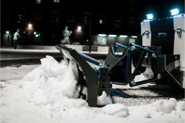 Lumebot snow-robots started to clean snow in Tallinn