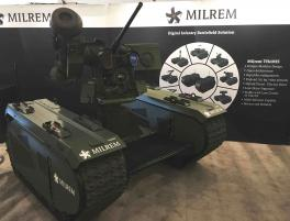 Estonia's Milrem to develop several new robotic defence systems