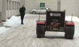 Milrem is testing a new robot to save lives in places where humans cannot go