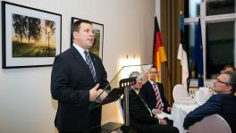 PM Ratas at a meeting with entrepreneurs in Berlin: Estonia is looking for technology and innovation intensive business models