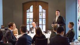 PM Jüri Ratas at a meeting with Norwegian investors: Estonia's most valuable resource is well-educated and smart people
