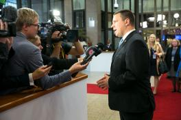 Estonian PM: Tallinn summit set the digital snowball rolling