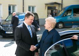 Prime Minister Ratas: Joint transport and energy projects strengthen security