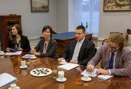 Prime Minister Ratas anticipates more digital cooperation with Sweden