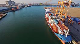 Passenger traffic and shipment of goods through ports increased last year