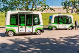 Self-driving buses to service two lines in Tallinn