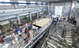 Industrial production up by 5 per cent