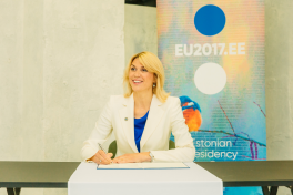 EU flagship initiative, the 5G declaration signed by EU Ministers in Tallinn